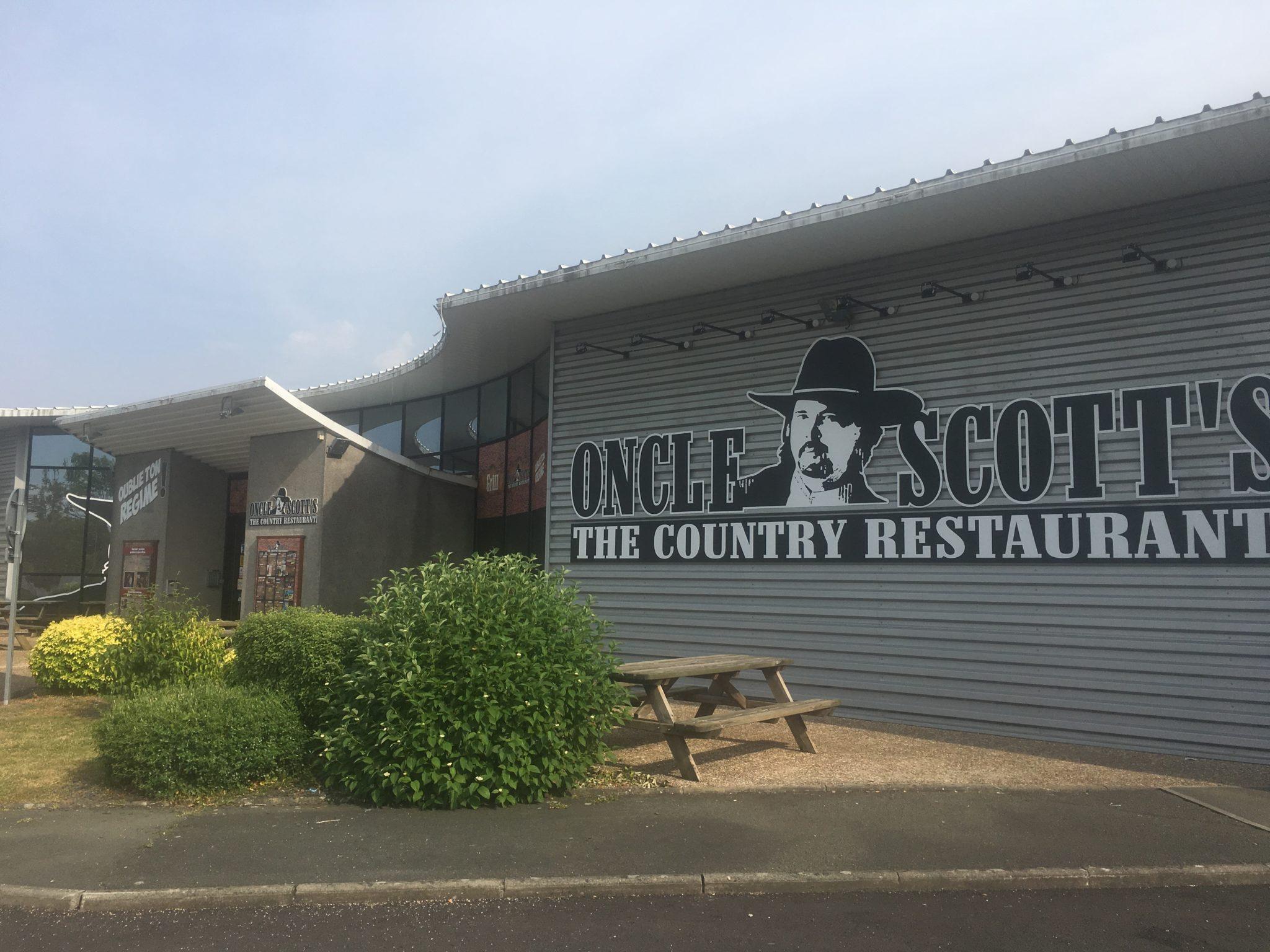 Oncle Scott's Beaucouzé est ouvert !