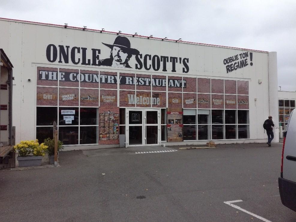 Oncle Scott's St Grégoire est ouvert !